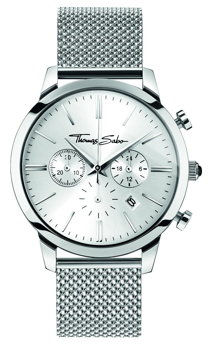 Thomas Sabo Eternal Rebel Chrono Silver Watch