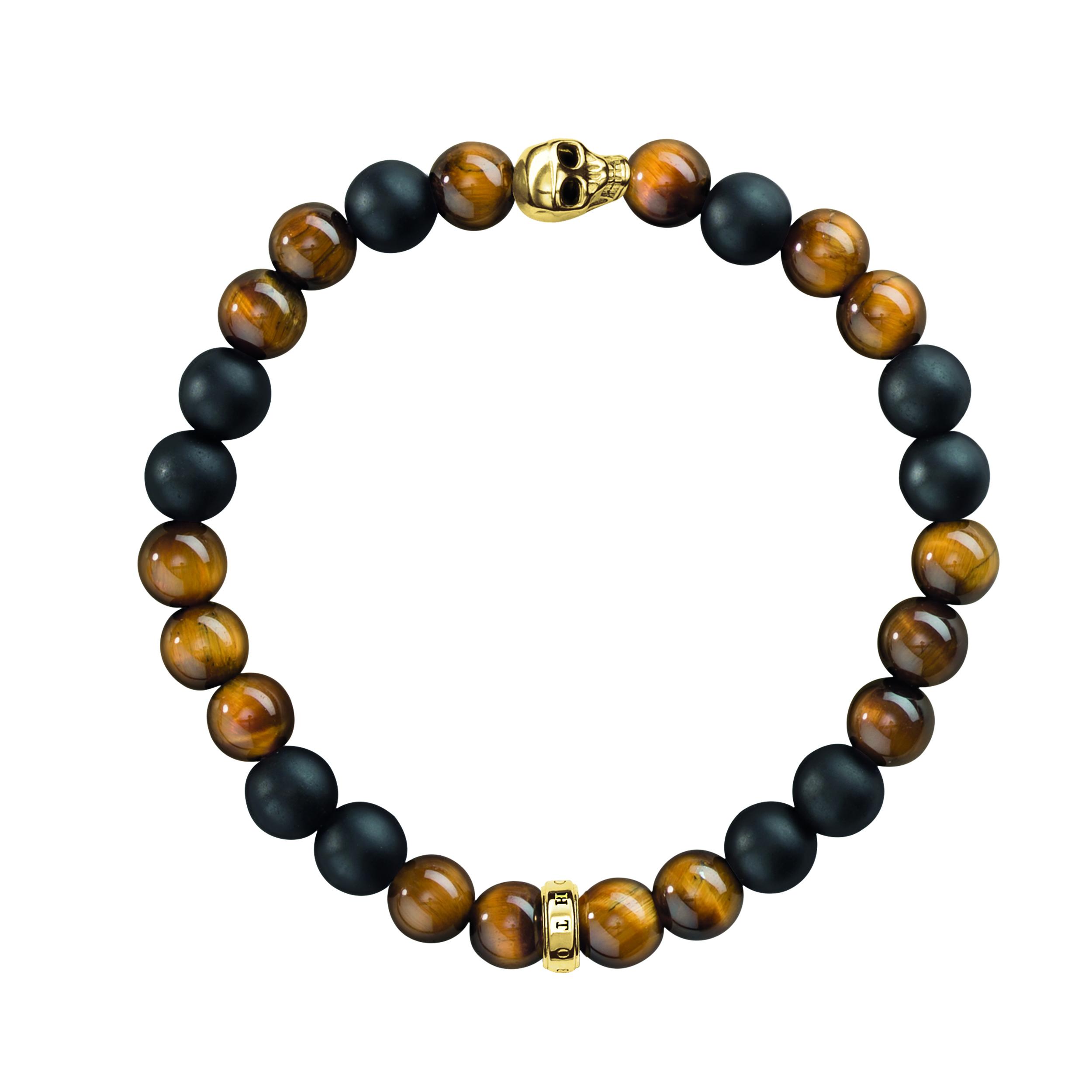 Thomas Sabo Skull Gold Bracelet
