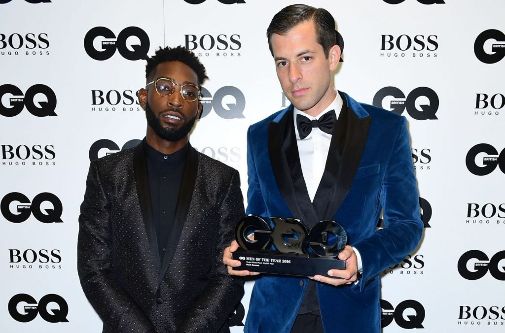 Mark Ronson took the crown for Hugo Boss' Most Stylish Man of the Year in his Hugo Boss outfit